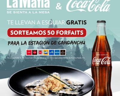RRSS Post 50 Forfaits gratis 400x320 - ¡La Mafia y Coca-Cola te llevan a esquiar gratis!