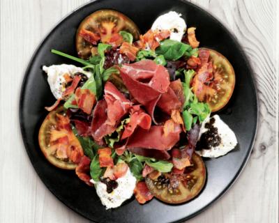 ensalada caprese 400x320 - ¿Por qué la ensalada caprese es una de las que más gusta?