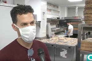 Pizzas para los héroes gaditanos en la lucha contra el coronavirus