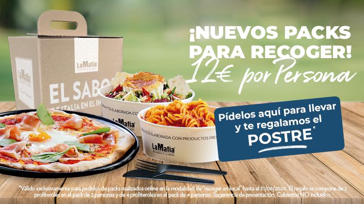 Slide La Mafia PACKS MOVIL V2 1 - Pide los nuevos packs de comida para recoger