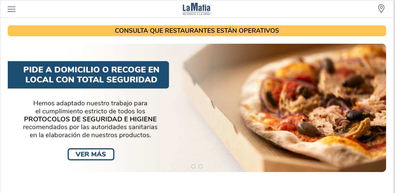 reservar en un restaurante italiano - ¿Cómo saber qué restaurantes de 'La Mafia se sienta a la mesa' están abiertos?