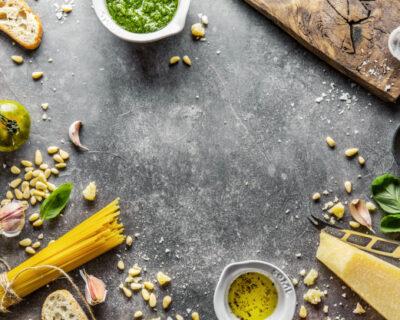 salsa pesto cocina italiana 400x320 - 3 salsas clásicas de la gastronomía italiana para una dieta equilibrada