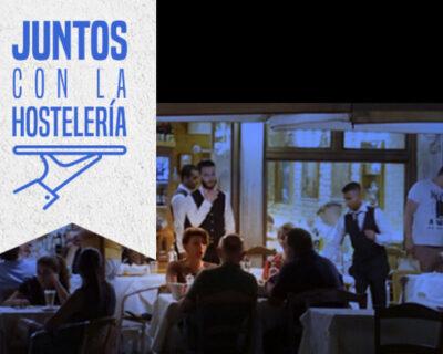 juntos por la hostelería 400x320 - En 'La Mafia se sienta a la mesa' apoyamos la iniciativa 'Juntos por la hostelería'