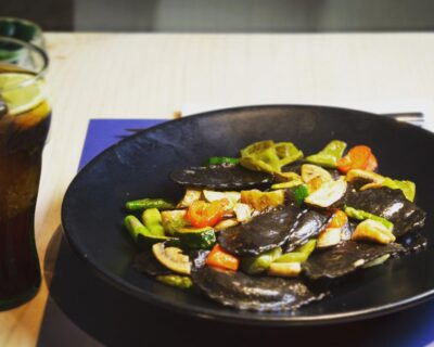 pasta rellena para vegetarianos 400x320 - Dos deliciosos platos de pasta rellena aptos para vegetarianos