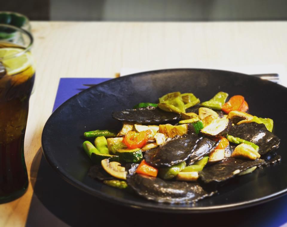 pasta rellena para vegetarianos - Dos deliciosos platos de pasta rellena aptos para vegetarianos