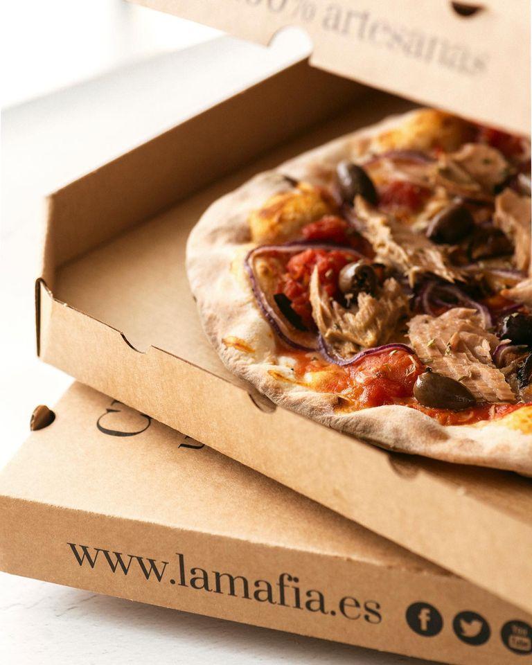 pizza saludable deliciosa - Un menú saludable puede contener pizza