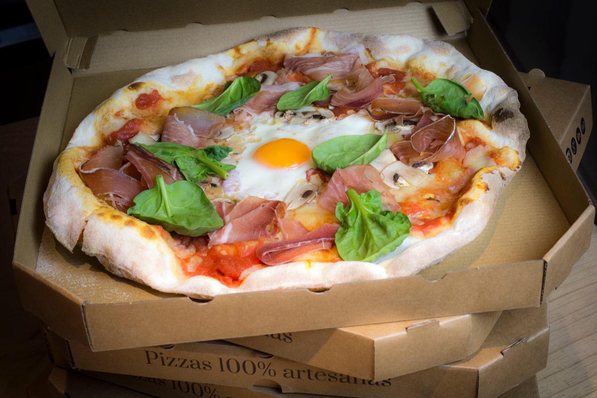 pizza saludable - Un menú saludable puede contener pizza