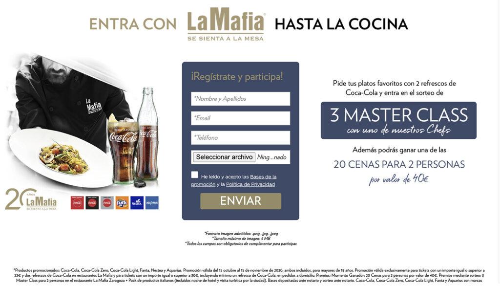 web hastalacocina 1024x587 - Entra hasta la cocina con La Mafia se sienta a la mesa y Coca-Cola