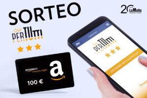 resize amazon lamafia 300x200 - Únete a nuestro Club PerTUtti y gana un cheque regalo de 100 € en Amazon