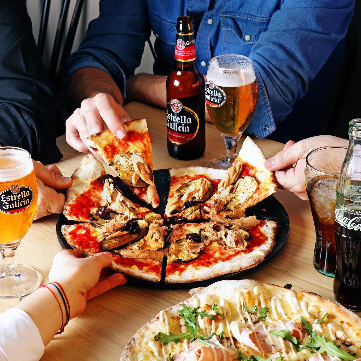 pizza para el dia del padre - Tres pizzas para sorprender el día del padre