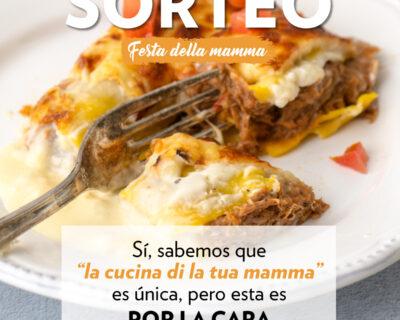 RRSS Sorteo San Dia de la Madre FEED 1 400x320 - Sorteo Día de la Madre. ¡Celebra la 'festa della Mamma'!