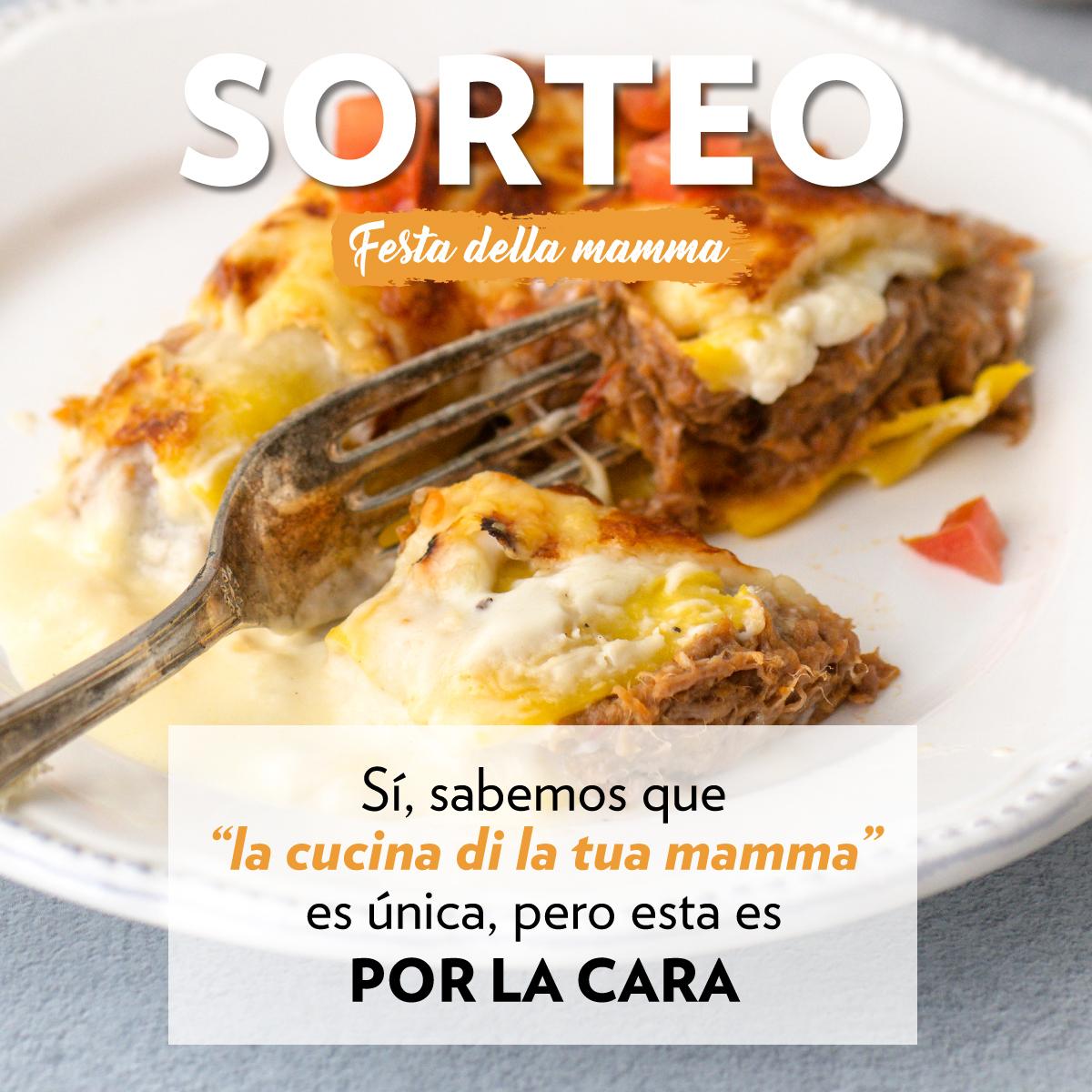 RRSS Sorteo San Dia de la Madre FEED 1 - Sorteo Día de la Madre. ¡Celebra la 'festa della Mamma'!