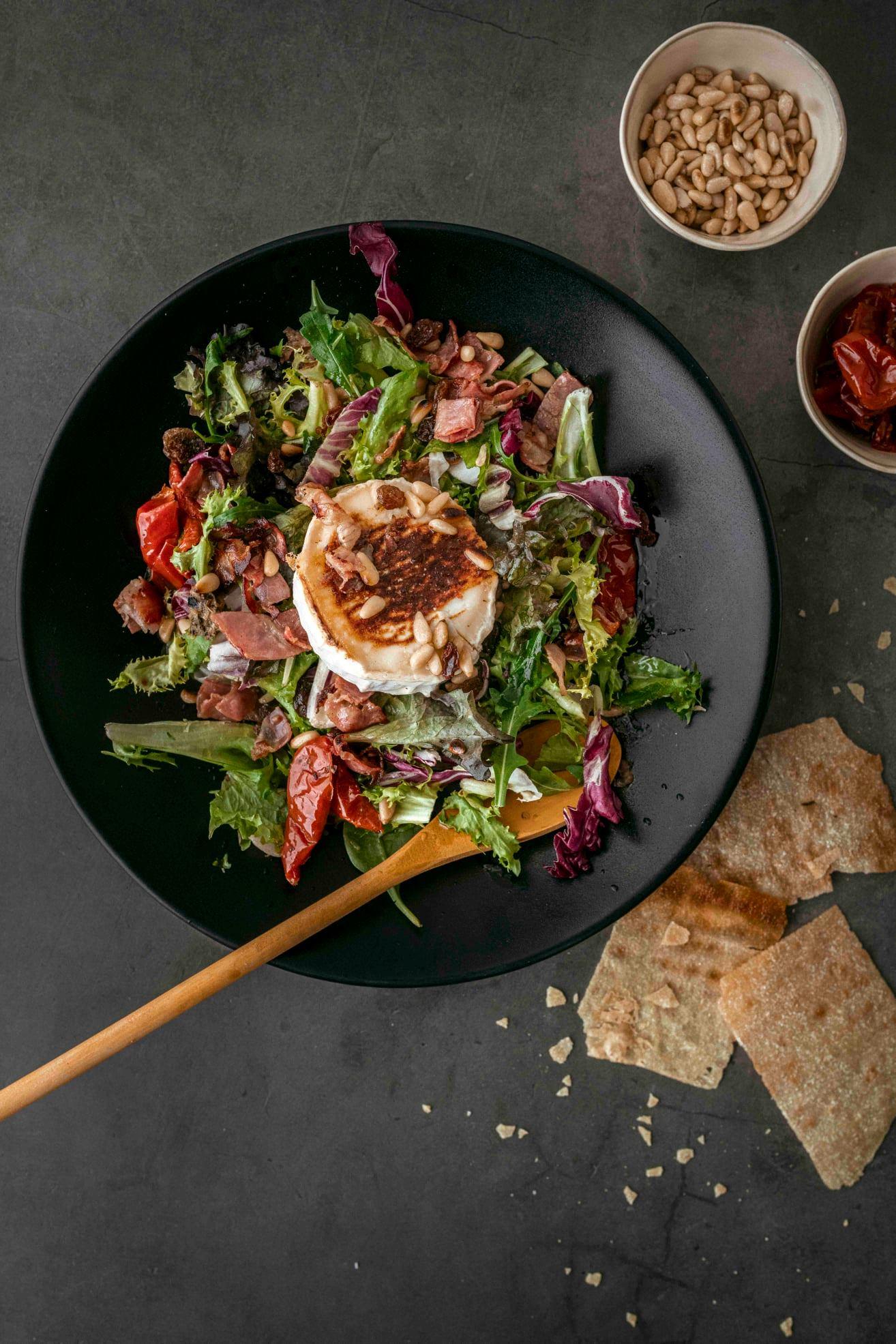 amantes rulo cabra cocina italiana - ¿Te gusta el queso de rulo de cabra? Estos platos son para ti