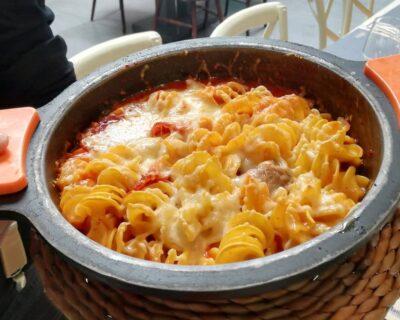 pasta al horno gratinada deliciosa 400x320 - Dos platos de pasta 'al forno' perfectos para compatir