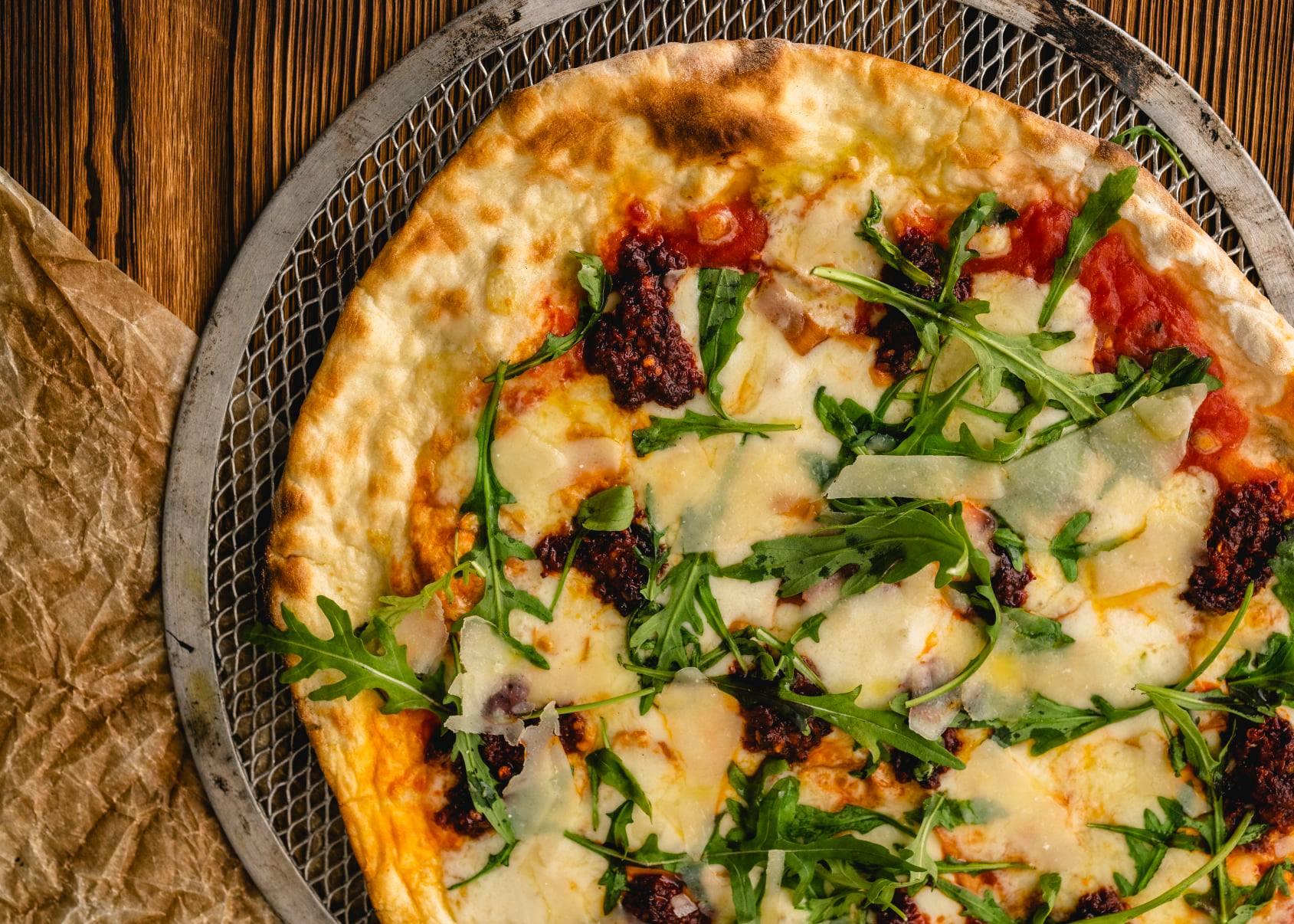 pizza unica italiana - Entre nuestras pizzas también han llegado novedades