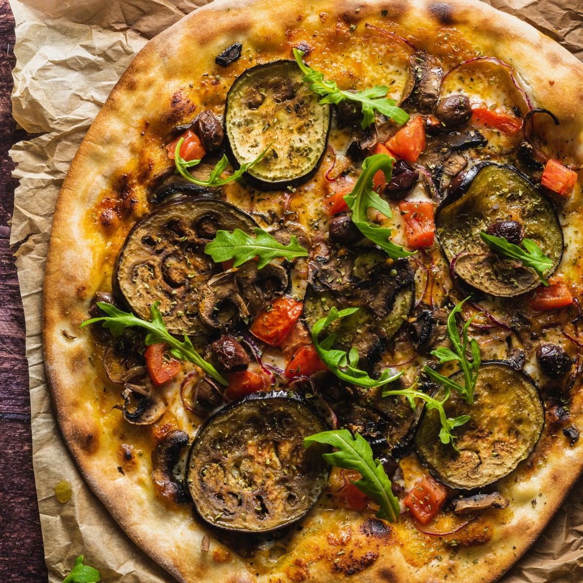 pizza verdurs - Entre nuestras pizzas también han llegado novedades