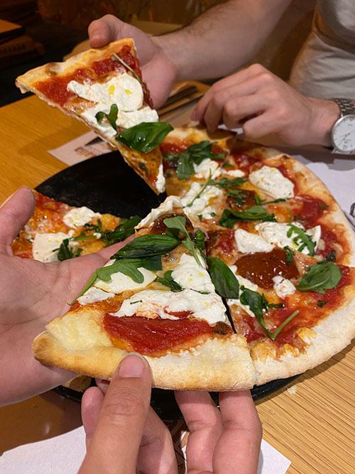 pizza solidaria 3 - Acciones sociales