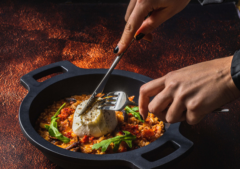 risotto con burrata - Queso burrata: Origen y 4 deliciosas recetas